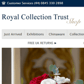 The Royal Collection uses Magic Zoom on its product images
