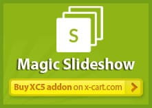 Magic Slideshow for X-Cart
