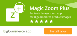 Magic Zoom Plus for Bigcommerce