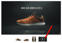Product video appears in Bigcommerce image gallery