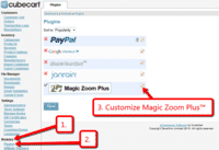 Customize the Magic Zoom Plus plugin