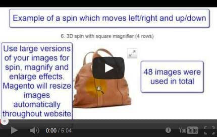 Watch how easy it is to upload 3D images to your Magento site