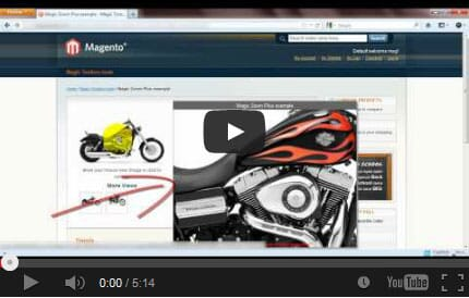 Watch how to install Magic Zoom Plus on Magento