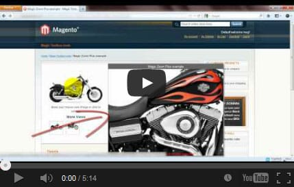 Watch how to install Magic Zoom on your Magento site