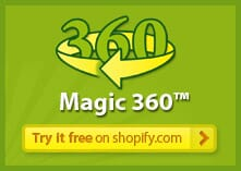 Magic 360 for Shopify