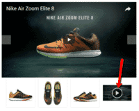Video(s) appear on Shopify product page as a product thumbnail