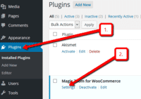 WooCommerce plugin for Magic Zoom settings page